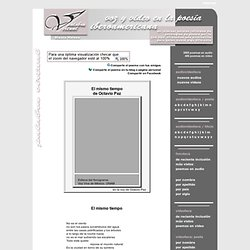 Palabra Virtual. Antología de poesia hispanoamericana.
