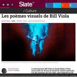 Les poèmes visuels de Bill Viola