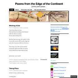 Poems from the Edge of the Continent | just the poems please…