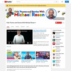 Kids' Poems and Stories With Michael Rosen