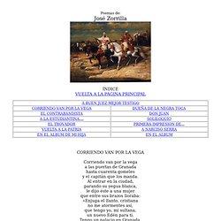 Poesia de José Zorrilla