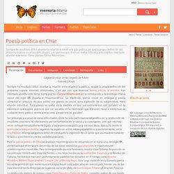 Poesía política en Chile
