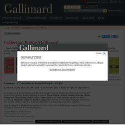 Poésie/Gallimard