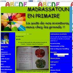 poesie - madrassatoun en primaire