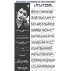 poésie polonaise: Halina Poswiatowska