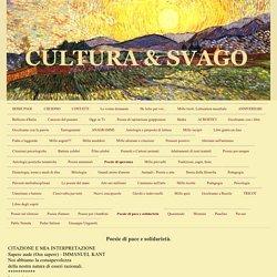 Poesie di pace e solidarietà. - CULTURA & SVAGO