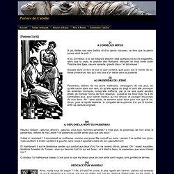 Poésies de Catulle - Poèmes 1 à 60