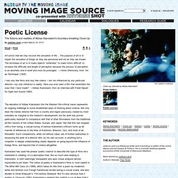 Poetic License by Joshua Land