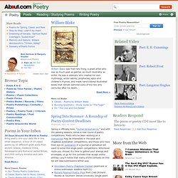 About Poetry — Poets, Poems, Poetics, Contemporary Poetry and Poetry History