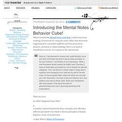 Models / Frameworks
