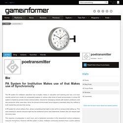 poetransmitter