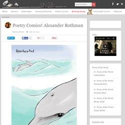 Poetry Comics! Alexander Rothman