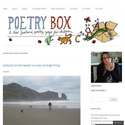 poetry challenges | Poetry Box