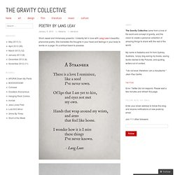 The Gravity Collective