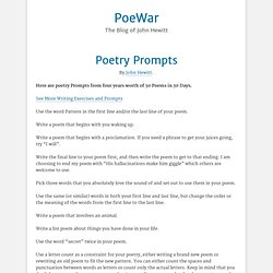 Poetry Prompts