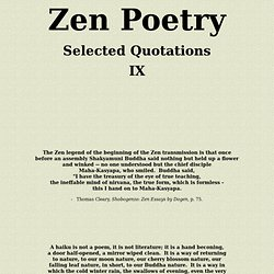 shobogenzo zen essays by dogen A remarkable collection of essays, sh b genz , treasury of the eye of true teaching, was composed in the thirteenth century by the zen master d gen, founder of the.