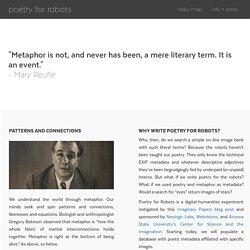 poetry4robots