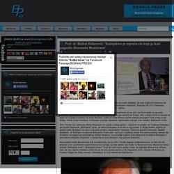 Prof. dr. Midhat Riđanović: 'Bošnjaštvo je najveće zlo koje je ikad pogodilo Bosanske Muslimane'