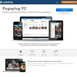 Pogoplug Software: Stream your photos, music and movies to the Web, your iPhone, iPad or Android