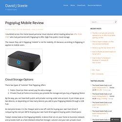 Pogoplug Mobile Review