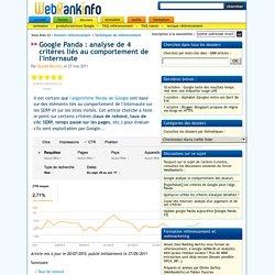 SEO et pogosticking, taux de rebond, taux de clic SERP...
