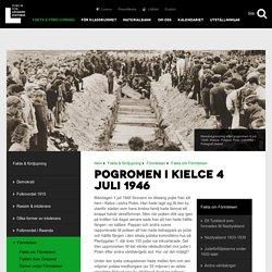 Pogromen i Kielce 4 juli 1946