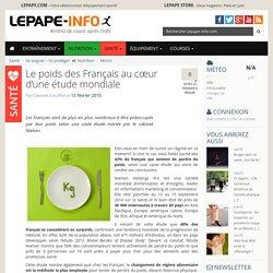 Le poids des Français au cœur d'une étude mondiale