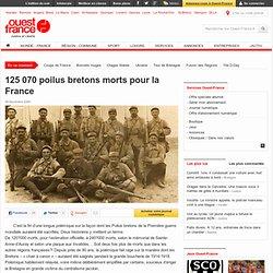 125 070 poilus bretons morts pour la France