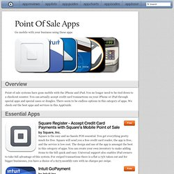 Point Of Sale Apps: iPad/iPhone Apps AppGuide