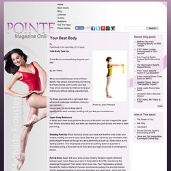 Pointe magazine – Ballet at its Best.
