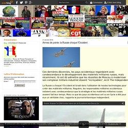 Armes de pointe: la Russie choque l'Occident