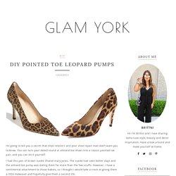 DIY Pointed Toe Leopard Pumps – Glam York