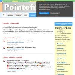 Pointofix - Herunterladen / Download