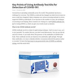 COVID Antibody Test Kit