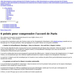 6 points pour comprendre l'accord de Paris