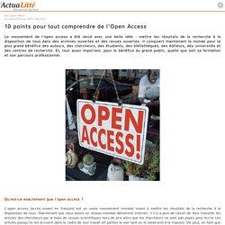 10 points pour tout comprendre de l'Open Access