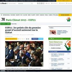 COP21 : les points clés du premier projet d'accord universel sur le climat