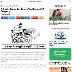 Remember before you hire the best SEo agency