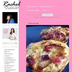 Rachel et sa cuisine gourmande et légère