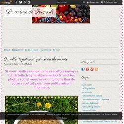 Crumble de poireaux quinoa au thermomix