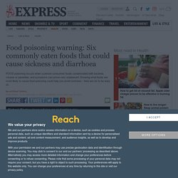 Food poisoning: Commonly eaten foods that could cause food poisoning symptoms