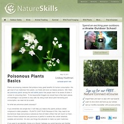 Poisonous Plants Basics
