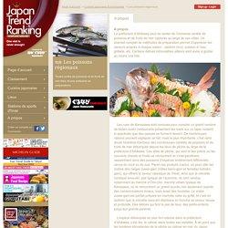 Les poissons régionaux ; Cuisine Japonaise