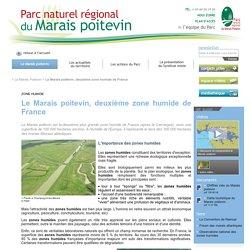 Le Marais poitevin, deuxième zone humide de France - Le Marais Poitevin - Parc naturel régional du Marais poitevin
