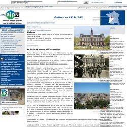 Poitiers en 1939-1945