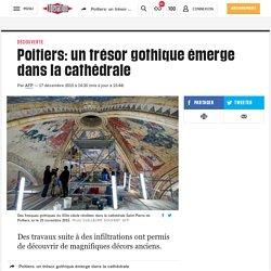 Poitiers: un trésor gothique émerge dans la cathédrale