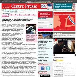 Centre Presse : Lavoux- Poitiers: Jean-Yves a choisi la voiture électrique