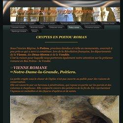 Le monde secret des cryptes romanes