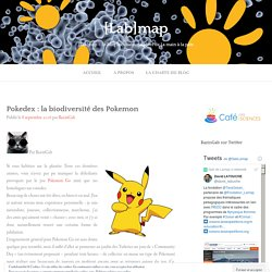 Pokedex : la biodiversité des Pokemon