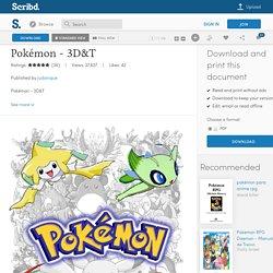 Pokémon - 3D&T